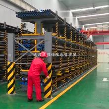 昆明管材货架 重型货架 放钢管的架子 长管材存放方法 天车配套