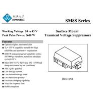 SM8S20A,找好的TVS二极管生产厂家东沃电子