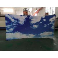 3D打印背景墙板厂家 3D彩绘印花铝板 八峻图3D彩绘铝单板立体效果图