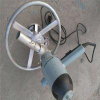手持式电动打井机卡博恩圆盘式水井钻机
