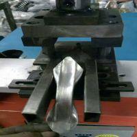 连接板冲孔枪尖自动模具 垫片扁铁切断冲裁模具