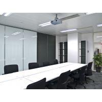 东莞会议室折叠屏风隔断墙吊挂门厂家直销