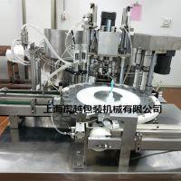灌肠水自动液体常压灌装机