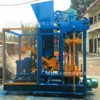 制砖机全自动大型液压免烧砖机械 全套水泥砖机 垫块机砖机空心砖