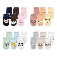 新款立体耳朵儿童袜批发卡通纯棉宝宝袜子防滑点胶婴儿地板袜