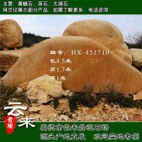 供应大型景观石 黄蜡石 招牌石 假山石 风景石 黄石图片