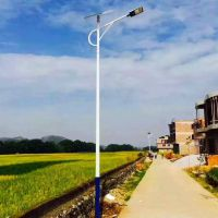 承运供应BY0003湖南5米30W美丽乡村建设太阳能路灯照明LED新农村路灯可定制室外路灯