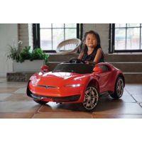 新款特斯拉儿童电动汽车宝宝电瓶车手推车脚踏车三轮车童车玩具