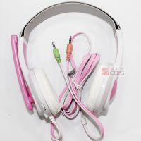 Q派T216耳机 手机电脑头戴式耳机游戏笔记本带麦克风时尚潮男耳机
