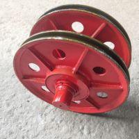 起重机铸钢定滑轮 铸铁滑轮片 16吨定滑轮组