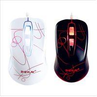 禧莱v510光电鼠标USB接口 炫彩发光游戏鼠标 LOL CF DOTA游戏竞技
