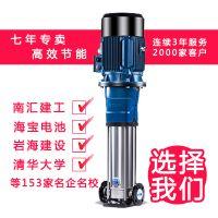 江阴南方泵业张青清-新型立式多级离心泵