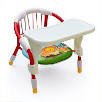 加固儿童椅叫叫椅宝宝椅子靠背椅小椅子板凳吃饭凳子婴儿餐椅餐盘