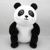 源头工厂儿童毛绒玩具动物熊猫公仔批发 可来图打样小批量定制