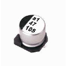 供应LELON品牌一级代理贴片铝电解VES221M0JTR-0605