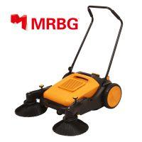梅尔博格手推式扫地机双边刷带天窗无动力扫地机家商两用