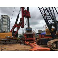 阿根廷出租旋挖机|隧道掘进机|顶管机|全回转全套管钻机|振动锤租赁施工公司