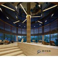 1500平方永威上和院售楼部装修_郑州售楼部装修施工