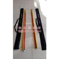 厂家供应玻璃钢TR型测杆带计算器铁路专用测杆接触线测量杆 益聚