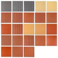 红缸砖 300*300防滑地砖 厨房 阳台 花园 吸水瓷砖200*200