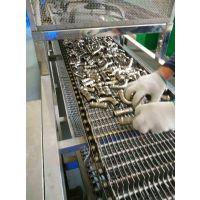 厂家直销网带式超声波清洗机 工业用不锈钢弯管除油污清洗设备厂家