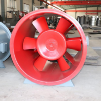 恩施生产3c认证双速高温排烟风机-祥帆空调