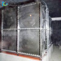 厂家供应搪瓷钢板水箱 装配式消防水箱 定做人防搪瓷储油箱