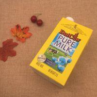荷兰乳牛纯牛奶 法国进口纯牛奶1L*6盒/件 高温灭菌全脂牛奶批发