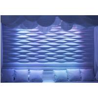 广东厂家专业定制商铺连锁店形象墙装饰板材波浪通花板隔断板