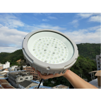 防爆照明LED灯60W 圆形挂壁式防爆工业化工厂灯
