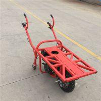 奔力BL-JGC 养殖河蚌助力运输车 不挑路单轮车操作视频