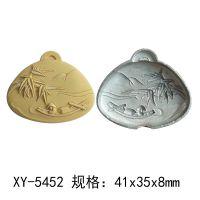 玉石玛瑙雕刻钢模宝玉石精雕挂件模具新款竹子  XY-5452