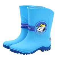 史努比儿童雨鞋 中筒防滑大童卡通正品雨靴NH儿童水鞋一件代发