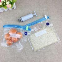 日常家用36X34食品保鲜真空网纹袋子定制26X28双骨条密封真空压缩袋子生产厂家