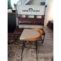 上海咖啡厅桌椅批发市场 上海茶餐厅桌椅 韩尔现代品牌工厂