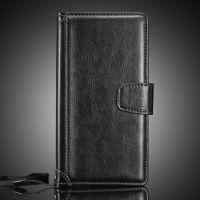 SONY Z5 mini 疯马纹相框皮套 Z5迷你商务插卡手机保护套 手机壳