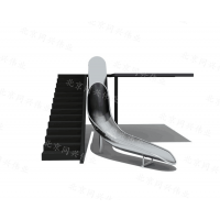 专业定做非标不锈钢滑梯 非标造型设备 消防螺旋不锈钢滑梯 厂家直销