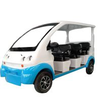 电动四轮巡逻车 山东厂家定制款新能源楼盘售楼部看房电动观光车