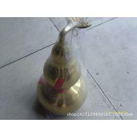 纯铜工艺品 铜葫芦 宝葫芦 带叶壶芦