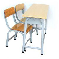 双人学校培训椅 ,双人课桌椅,型号KXY-3580,学习活动桌,厂简约现代金属好椅达台