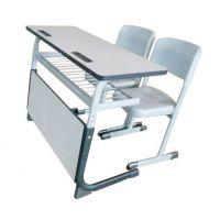 双人学校培训椅 ,双人课桌椅,型号KXY-3577,学习活动桌,厂简约现代金属好椅达台