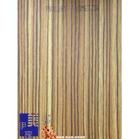 伊美家防火板斑马木9011NT天然木皮面耐火板餐饮连锁店专用胶合板