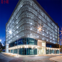 透光冲孔铝单板 晟铝单板厂家 直供幕墙铝单板 氟碳铝单板定制
