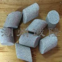 钭圆柱棕刚玉研磨抛光磨料,钭柱形研磨石生产厂家,去毛刺抛光石