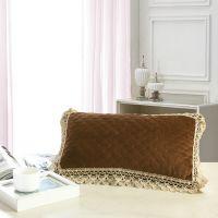 美容院花边枕头专用枕芯小方枕美容美体按摩床枕芯可拆洗