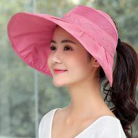 半空顶遮阳帽防晒大岩帽子女夏季大延边凉帽女款时尚露头顶太阳帽