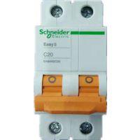 供应施耐德小型断路器,微型断路器,空开EA9AN 2P C20