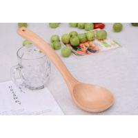 勺中弯勺 天然木汤勺 木质餐具粥勺环保健康茶勺DIY手工制作