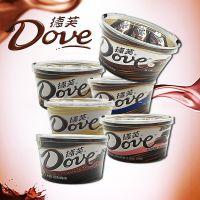德芙巧克力碗装252g 多种口味任选情人节 结婚用品喜糖婚庆批发
