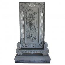 福建惠安生产厂家 客厅汉白玉浮雕背景石头雕刻 高雅精致增加色彩